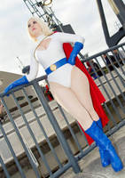 Power Girl Cosplay - Updated by GraceyDarling