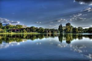 lake hdr by lucifersdream