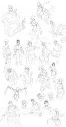 Karabean _ Sketch Basard by ShadShad