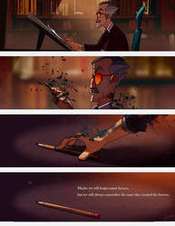 R.I.P Stan Lee the Marvel Man by theDest16