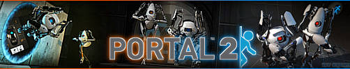 Portal 2 Signature Banner by xXDeeJay