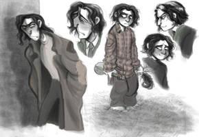 Severus by D00Mk1tty14