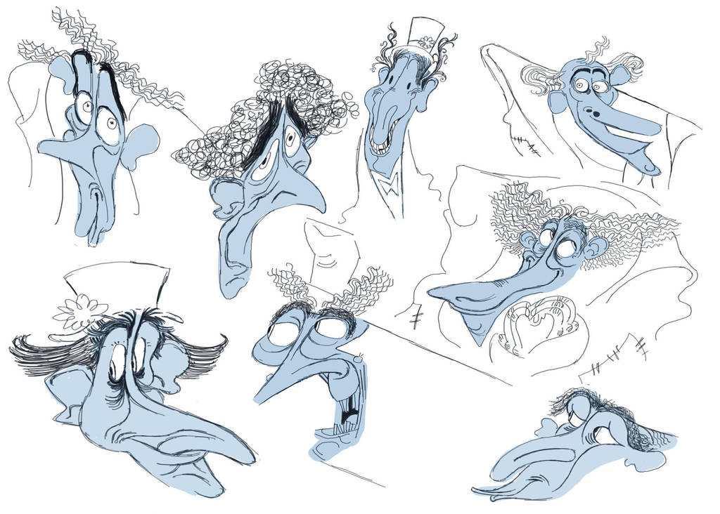 Scoundrel Sketches by D00Mk1tty14