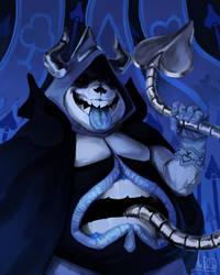 King of Spades-Deltarun by Drag0n-Princess