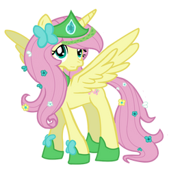 Princess fluttershy by schnuffitrunks