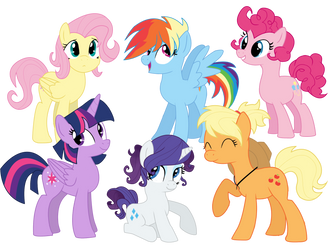 My little Pony short hair or short mane are magic by schnuffitrunks