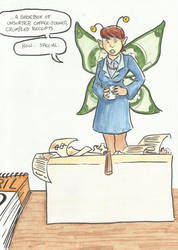 The Tax Fairy by CaitlinWonder-Girl