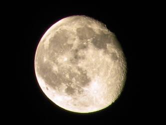 Lune - Moon - Nikon P90 by XPCoccinelle