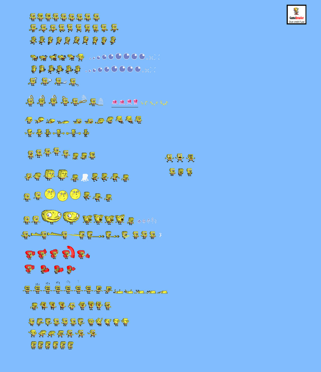 Spongebob Sprite Wwwtollebildcom