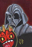 Starwars Darth Vader and Maul by Axigan