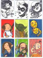 Sketch Cards by Axigan