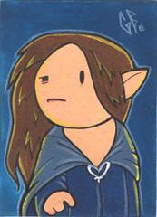 SketchCard: LOTR Arwen_1 by Axigan