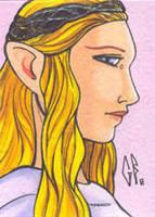 SketchCard: LOTR Galadriel by Axigan