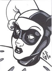 SketchCard: Harley Quinn_1 by Axigan