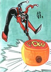 SketchCard: Harley Quinn_2 by Axigan
