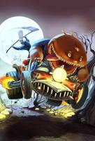 Grim Fandango fanart by Axigan