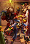 Monkey Island 2 Fanart by Axigan
