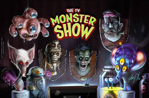 The TV Monster Show by Axigan