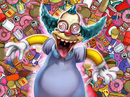Krusty- commission by Axigan
