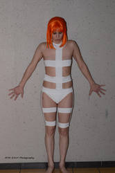 Leeloo against the wall by Bodatheyoda