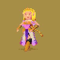 Zelda by hivernoir