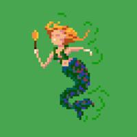 Mermaid by hivernoir