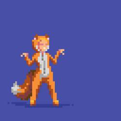 Fox by hivernoir