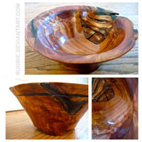 red cedar bowl by rugbie