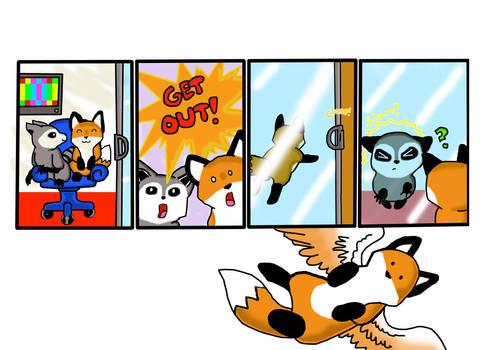 Stupid Door by SilverandZuko