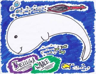 Beluga love by raHunterB