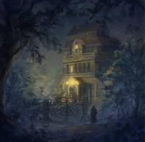 Foggy Night by porll