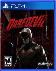 Daredevil Ps4 Art Cover by DOMREP1