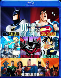 Dc Animated Universe Collection by DOMREP1