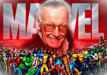 RIP Stan Lee [1922-2018] by DOMREP1