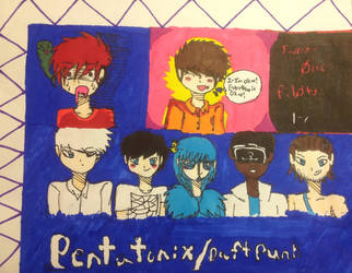 Twenty One Pilots and Pentatonix Fanart by DaFlawlessQueen