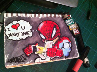 Spidey loves by Jarrad113