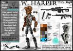 W. Harper (AU 2 version) by MegiW