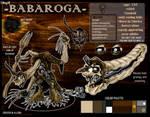 OC - Babaroga [ref sheet] (AU) by MegiW