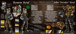 OCs - Reid Brothers [Ref Sheet] by MegiW