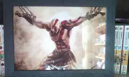 Kratos by Nokoomis
