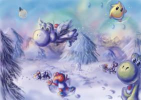 Yoshi's Winterland by Myaco