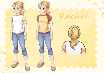 [Commission] Reference Sheet Rachel by Myaco