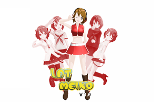 MMD newcomer LAT MEIKO v.1 by Yen-mi