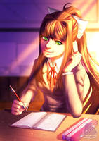 Monika by SleepySour
