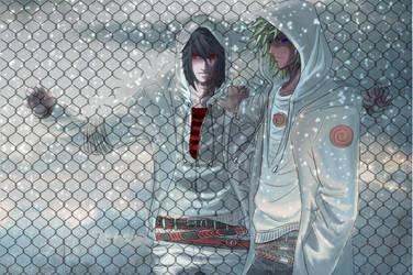 Sasuke_Naruto_Barriers by Warrior-of-Ruin