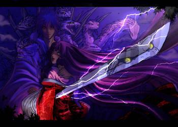 Susanoo_Kushinada-hime_Legend by Warrior-of-Ruin