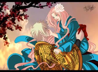 COMMISH_NaruSaku by Warrior-of-Ruin