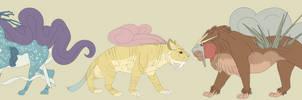 Legendary Beasts Reference by Amatelaseu