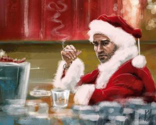 Bad Santa by admat