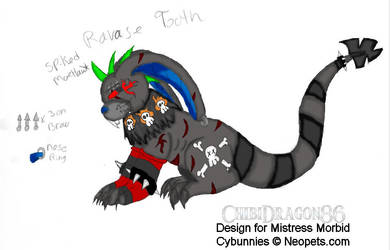 Ravage Tooth Complete by ChibiDragon86